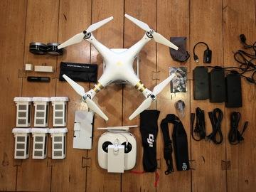 Rent: DJI Phantom 3 Professional Quadcopter with 4K Camera