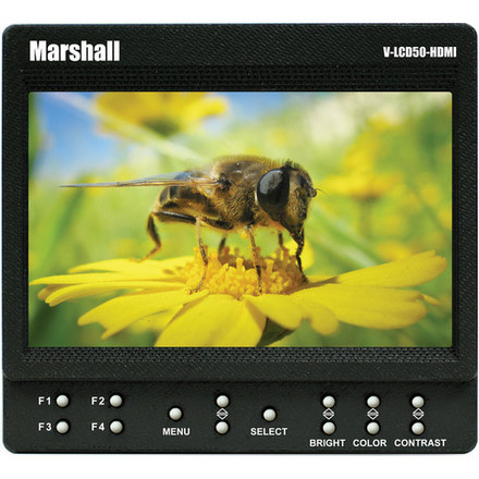 Marshall V-LCD50-HDI 5-in Field Monitor