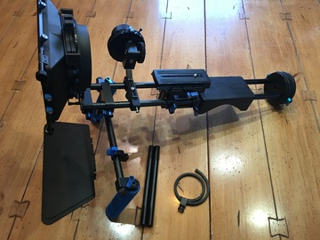 Rent: Shoulder Rig with Quick Release, Follow Focus, etc.