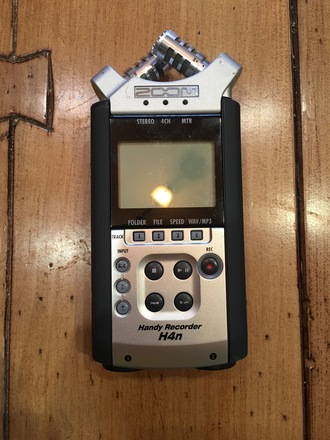 Zoom H4n 4-Channel Audio Recorder
