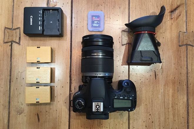 DSLR Canon 60D Kit