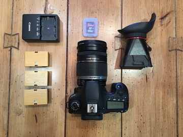 Rent: DSLR Canon 60D Kit