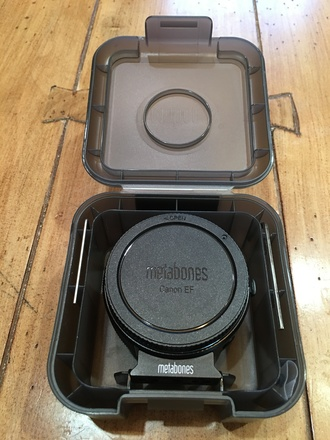 Metabones Canon EF Lens to Sony E Mount Lens Adapter