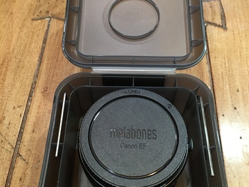 Rent: Metabones Canon EF Lens to Sony E Mount Lens Adapter
