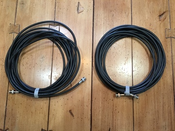 Rent: SDI Cables (20ft each, 2 pack)