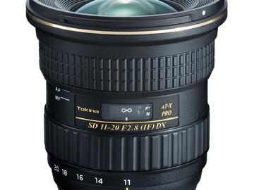 Rent: Tokina AT-X 11-20mm f/2.8 Pro DX