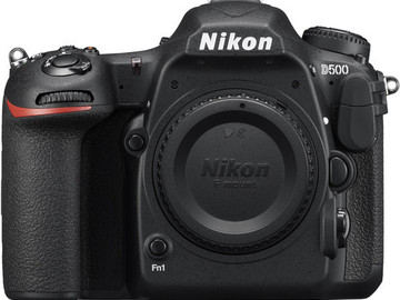 Rent: Nikon D500