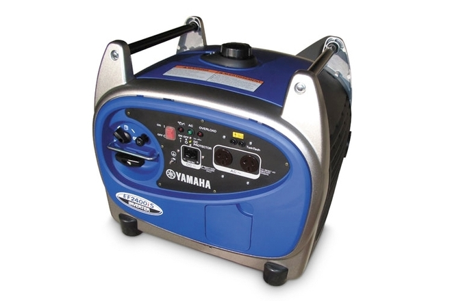 Silent Yamaha 2400IS, Smallest generator to push an M18