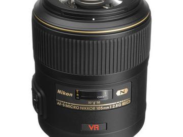 Rent: Nikon AF Nikkor 105mm f/2.8D Micro