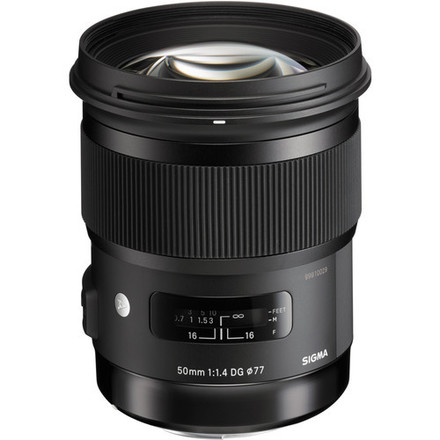 Sigma 50mm f/1.4 DG HSM Art-NIKON MOUNT