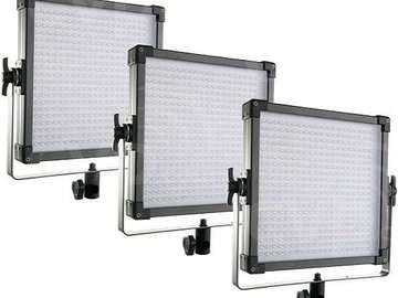 Rent: F&V LED 1*1 Panels (4 Full Kits available)