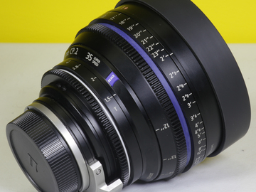 Rent: Zeiss CP2 SuperSpeed Set (35, 50, 85mm in t1.5) EF or PL