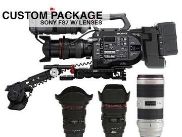 Rent: Sony PXW-FS7 XDCAM 4K w/ Lens Custom Package
