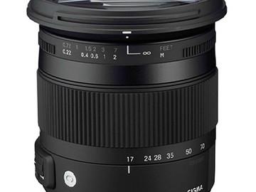 Sigma 17-70mm f/2.8-4 DC Macro OS HSM Contemporary