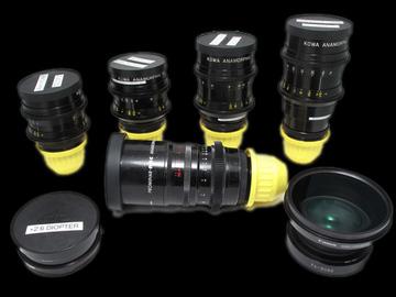 Rent: Kowa Anamorphic Prime Lens Set