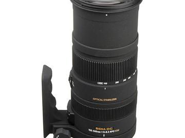 Rent: Sigma 150-500mm f/5-6.3 APO DG OS HSM