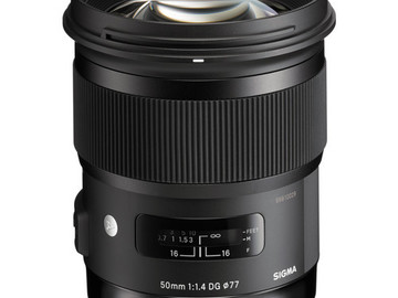 Rent: Sigma 50mm f/1.4 DG HSM