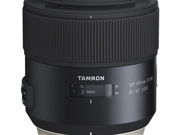 Rent: Tamron SP 45mm f/1.8 Di VC USD