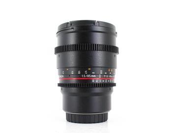 Rent: Rokinon 85mm T1.5 Cine DS, Micro 4/3 Fit