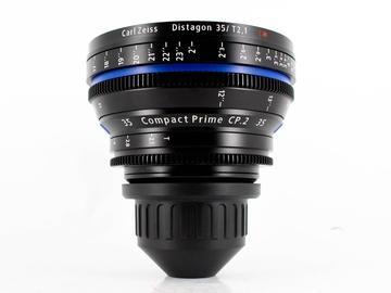 Rent: Zeiss CP.2 35mm T/2.1 EF Cine Lens