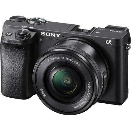 Sony Alpha a6300 4k w/ 16-50mm