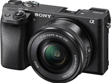 Rent: Sony Alpha a6300 4k w/ 16-50mm & EF Adapter