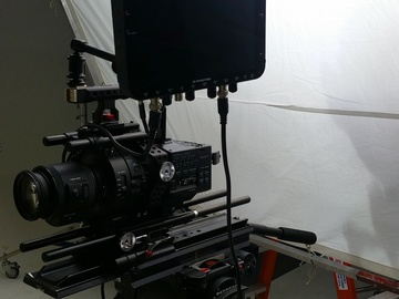 Rent: FS700R Package w/ Cage, Lens & Batteries