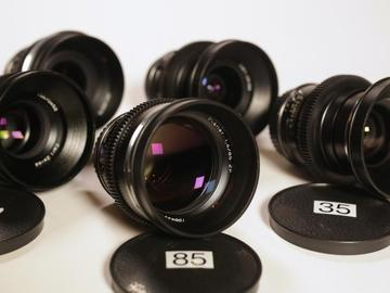 Rent: Zeiss ZF Cine Mod set