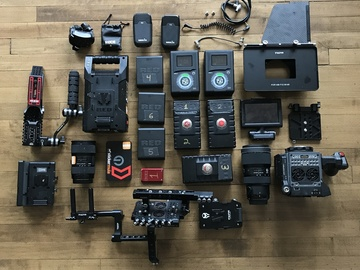 Rent: RED Scarlet-W Dragon 5K - Full Package