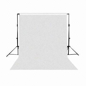 "Background Portable Stand Kit + 107"" wide Paper White roll"