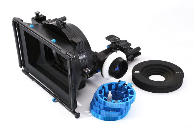 Redrock Micro Mattbox + Follow Focus w/ 15mm rail support