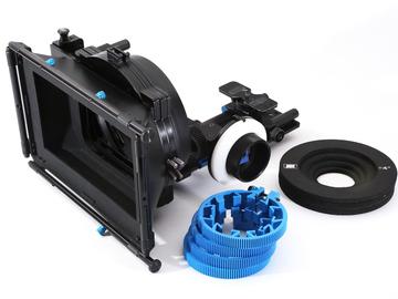 Rent: Redrock Micro Mattbox + Follow Focus w/ 15mm rail support