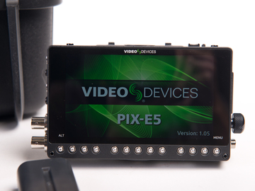 Rent: Video Devices Pix-E5 & LR Audio Interface