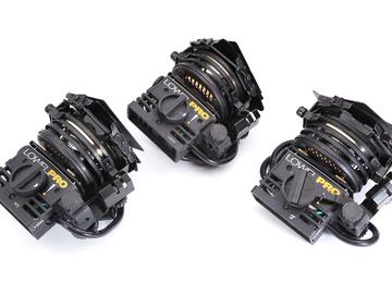 Lowel Pro-Light - 3 light interview kit w/ stands