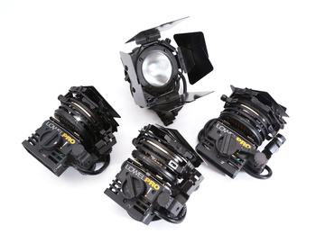 Lowel Pro-Light - 4 light interview kit w/ stands