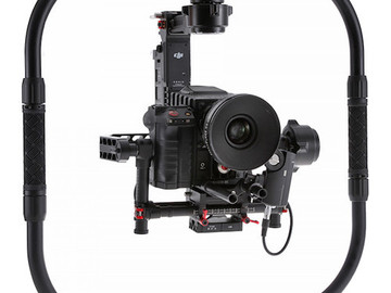 Rent: DJI Ronin w/ Ring, Extensions & Cinemilled Pro Dovetail