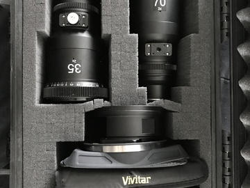 Rent: SLR Magic 2x Anamorphot MFT 35mm + 70mm w/ Accessories