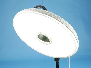 """Rent: Interfit Fluorescent 18"""" Ring Light 3 w/ diffuser, stand"""