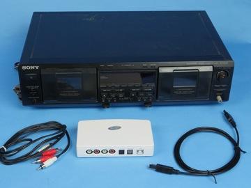 Rent: Sony TC-WE635 Dual Audio Cassette Deck w/ ADS Instant Music