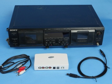 Rent: Sony TC-WE635 Dual Audio Cassette Deck w/ ADS Instant Music
