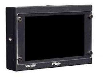 Rent: TV Logic VFM-058 with D-Tap, cables, and Canon LP-E6 plate