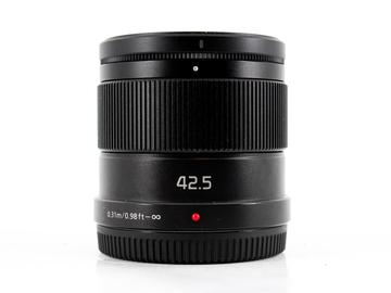Rent: Panasonic Lumix G 42.5mm f/1.7 ASPH Power OIS