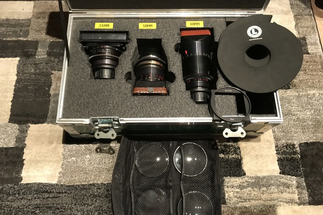 *HUGE SALE* LOMO SQUARE FRONT ANAMORPHIC LENS SET w/Diopters