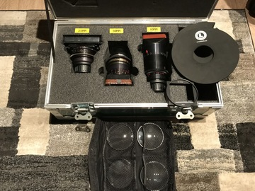 Rent: *RARE* LOMO SQUARE FRONT ANAMORPHIC LENS SET [with DIOPTERS]