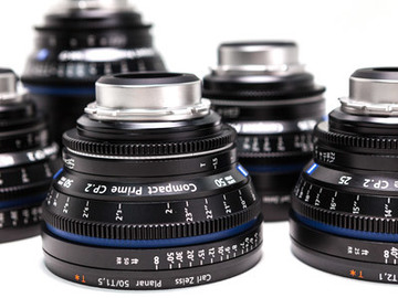 Zeiss  Compact Prime CP.2 Lens Set