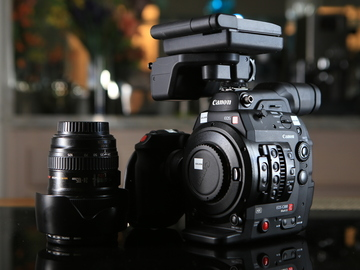 Rent: Canon EOS C300 Mark II with 24-105 L lens & Tilta cage