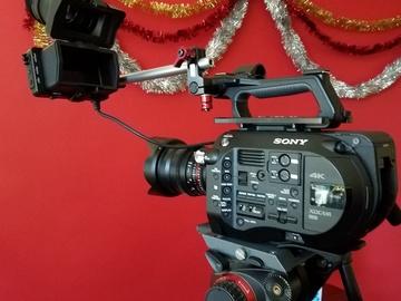 Rent: Sony PXW-FS7 + Extras