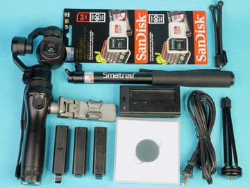 Rent: DJI Osmo X3 Gimbal 4k Camera and many accessories