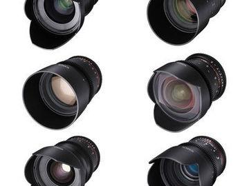 Rokinon Cine DS Lens Set