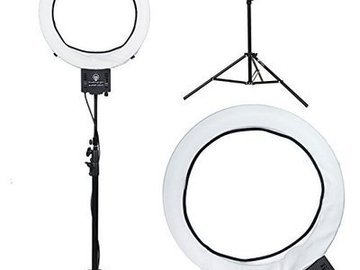 "Rent:  Diva Ring Light Super Nova 18"" Dimmable Photo"